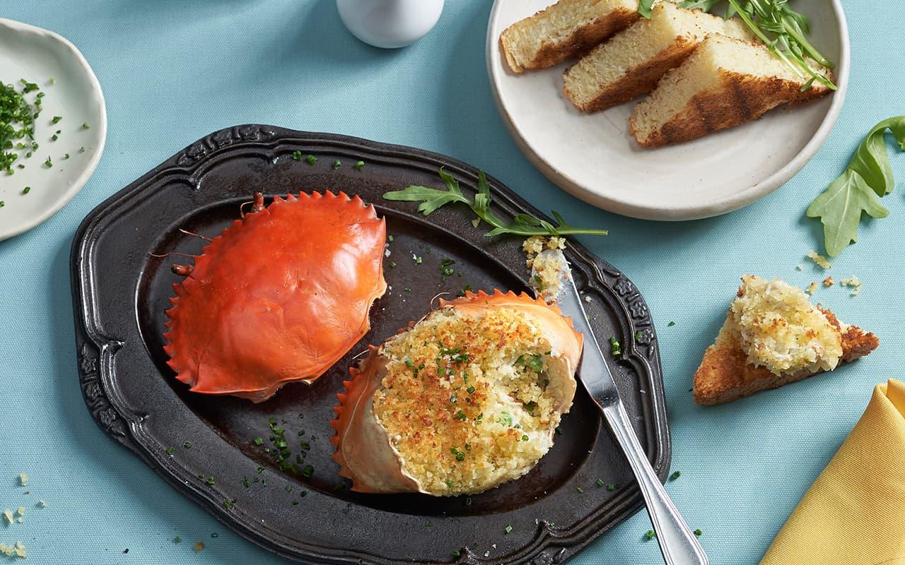 Upside Down Crab